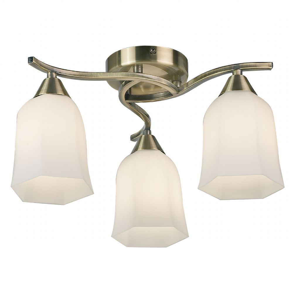 how to clean glass light fittings